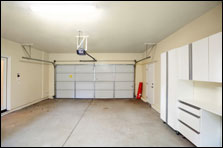interiior garage room conversion build-outs